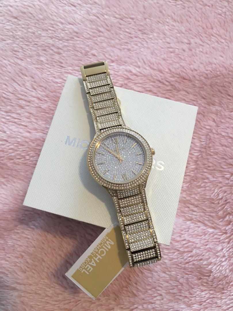 Brand new Michael kors Kerry gold tone mk3360 watch