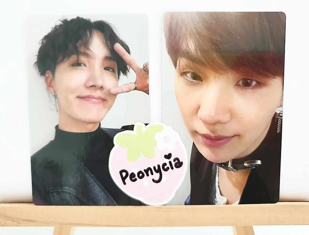 BTS FAKE LOVE/AIRPLANE PT.2 OFFICIAL ALBUM PHOTOCARDS