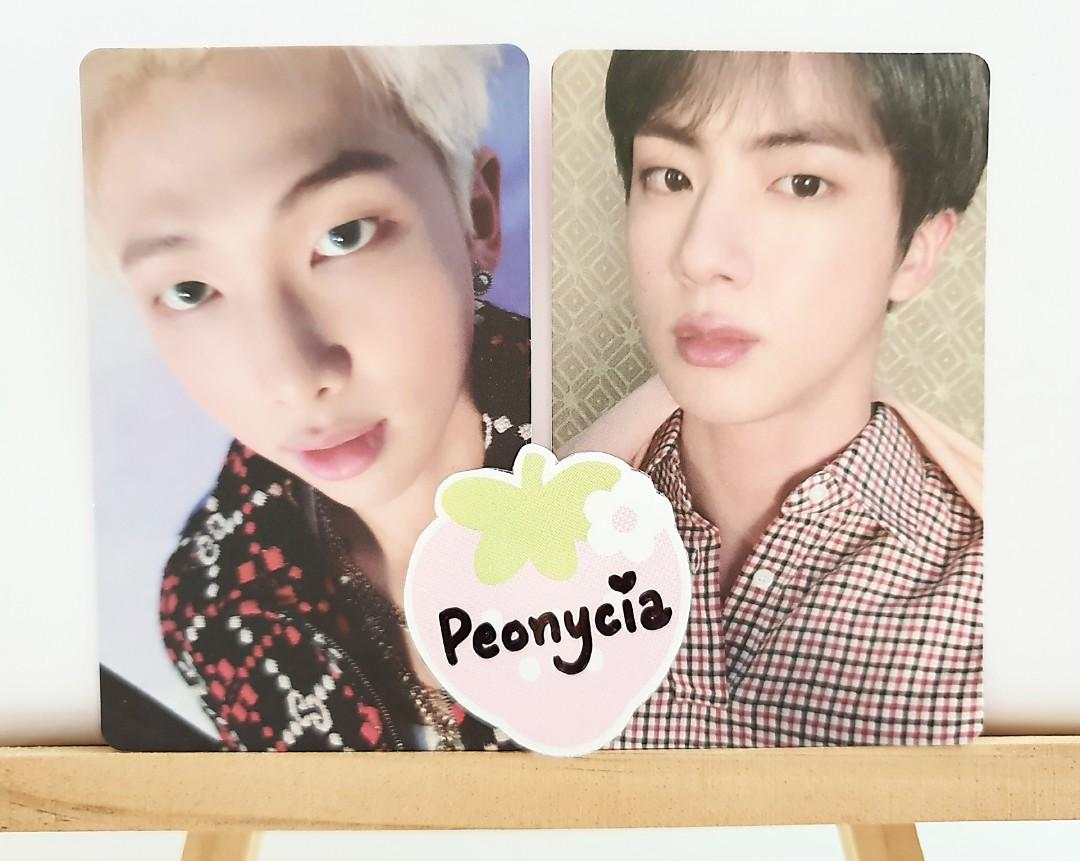 BTS MAP OF THE SOUL: PERSONA OFFICIAL ALBUM PHOTOCARDS