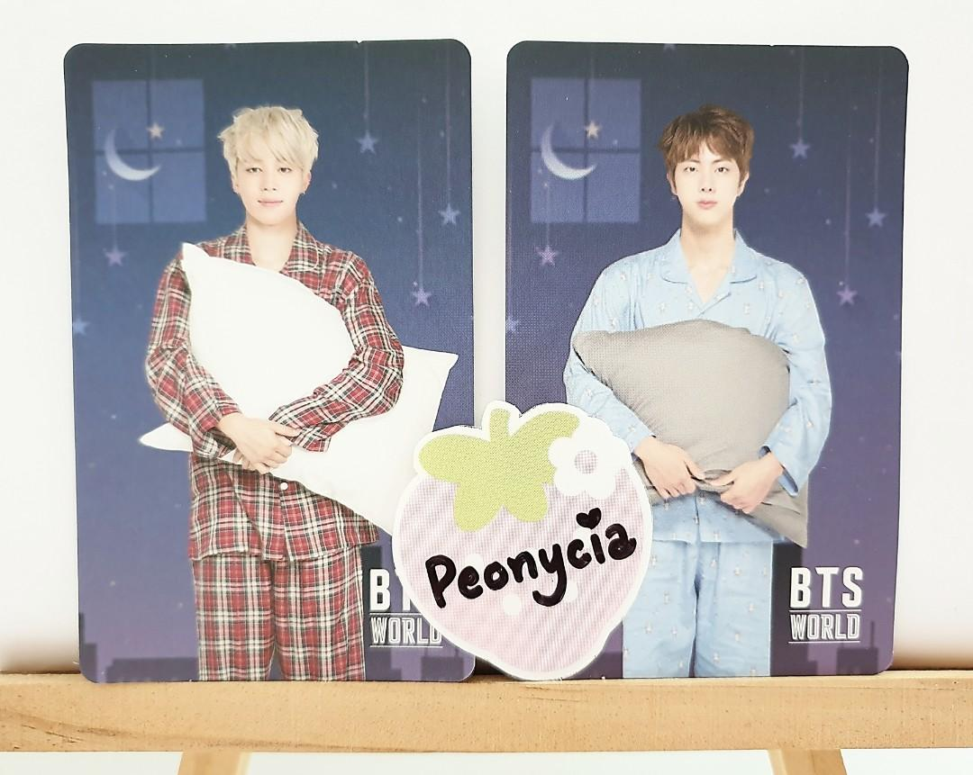 BTS WORLD ALBUM STYLE GAME COUPON OFFICIAL PHOTOCARDS