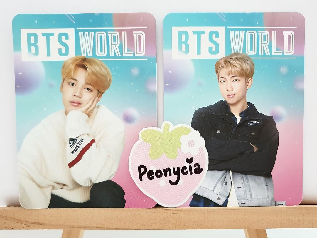 BTS WORLD OFFICIAL BH SPECIAL GIFT PHOTOCARDS (w/o name tag)