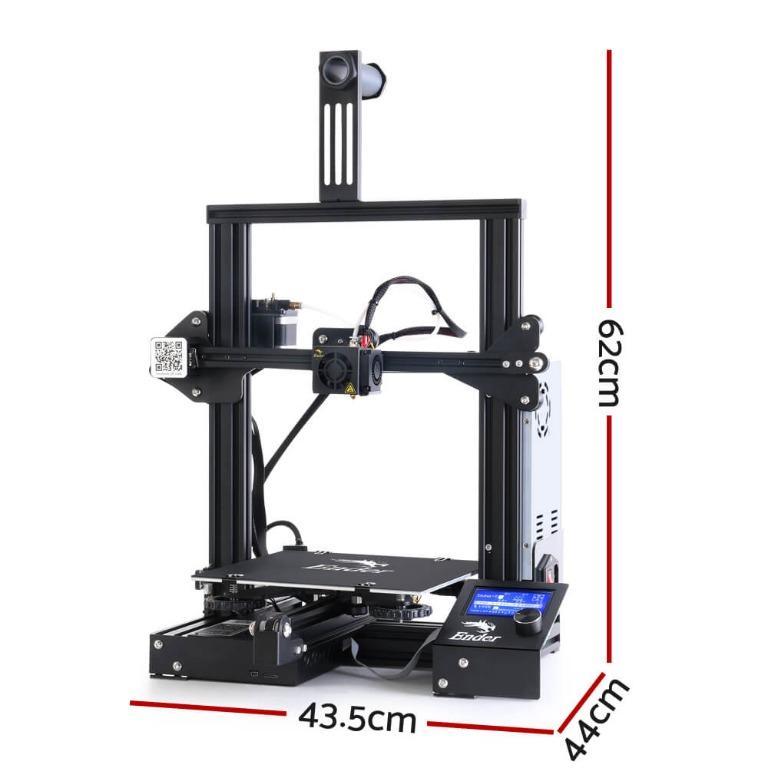 Creality 3D Ender 3 3D Printer Resume Printing High Precision 220*220*250mm