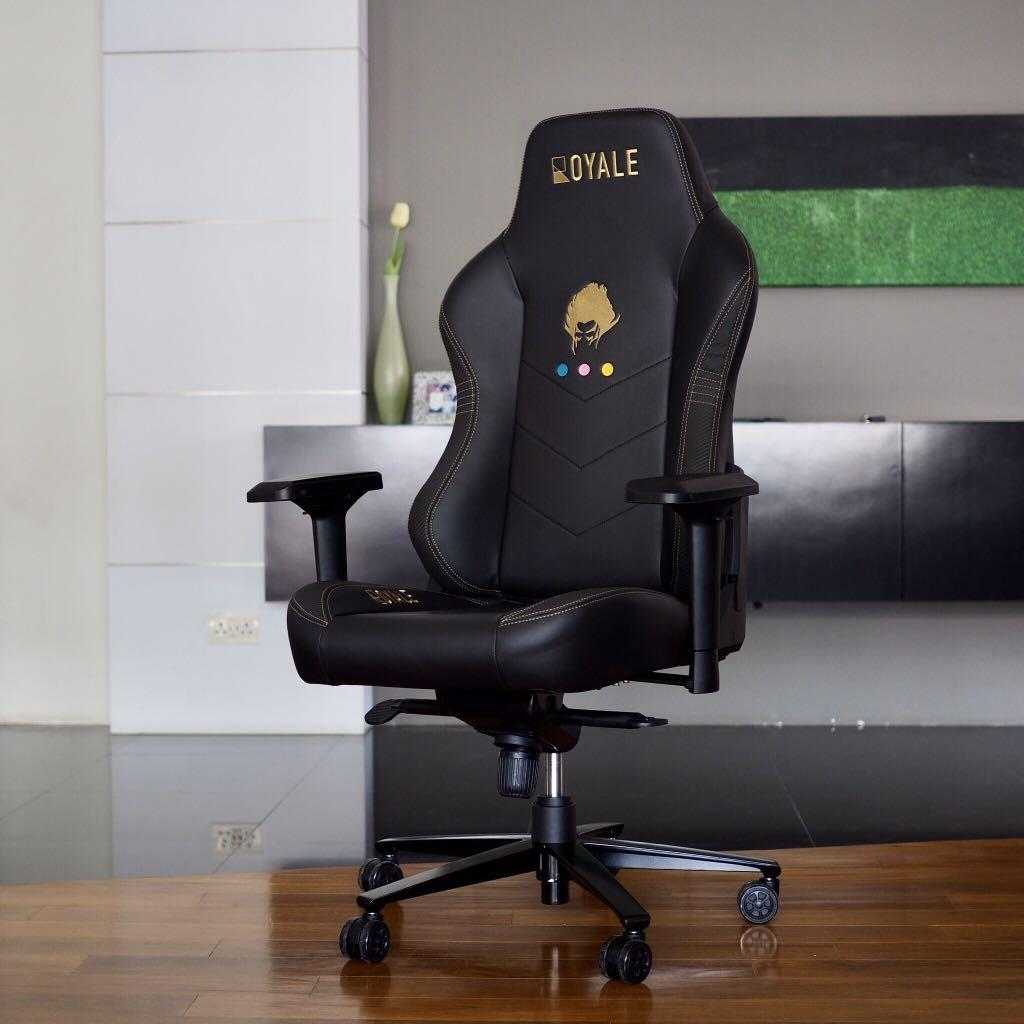 Customisable Colours & Logo, Automotive-grade Gaming/Office Chair by Royale