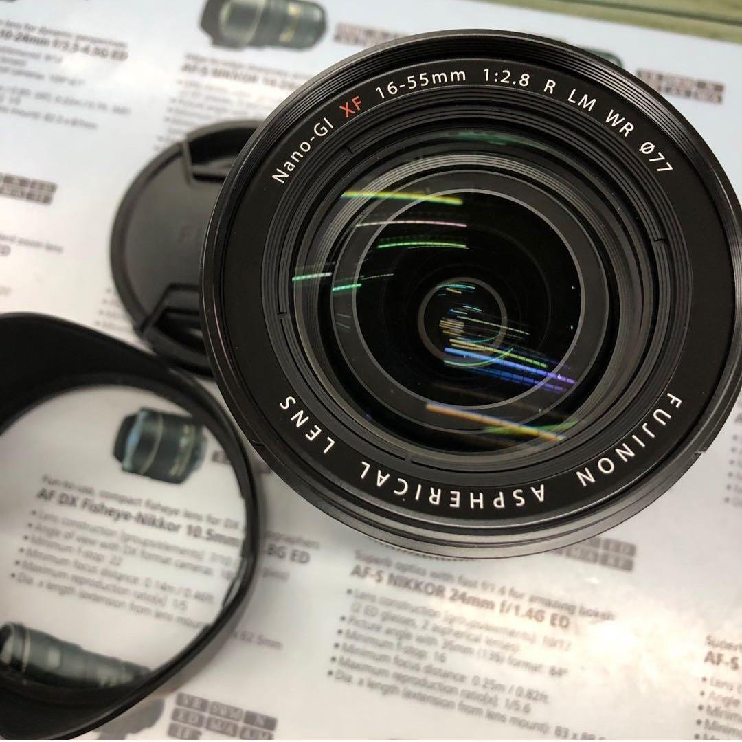 Fujifilm XF 16-55mm F2.8 R LM WR Nano-GI