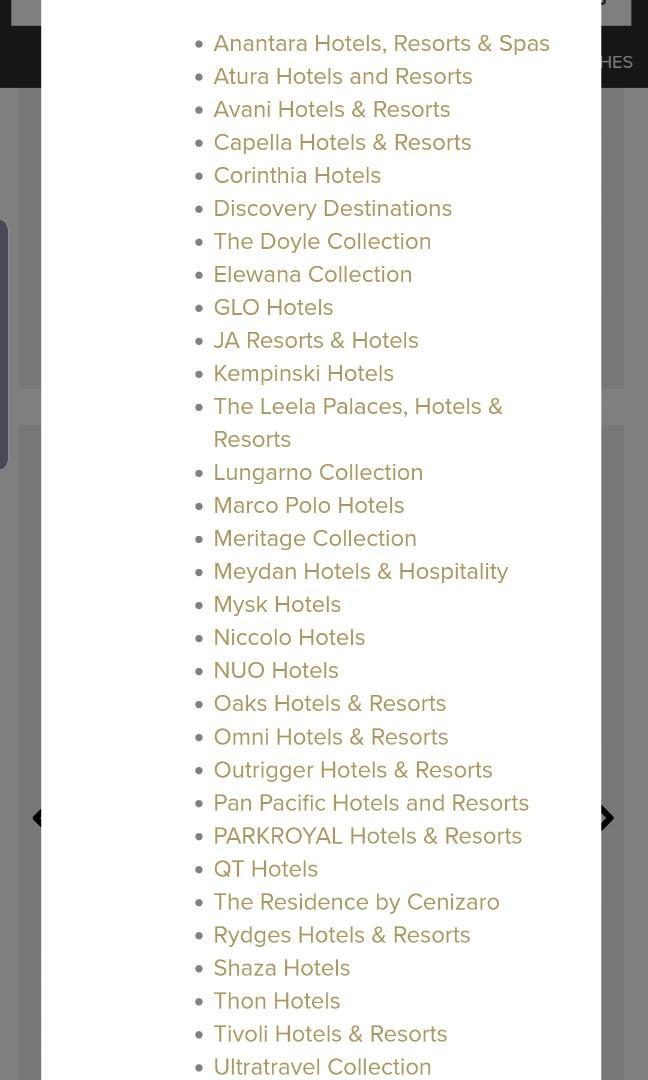 Global Hotel Alliance  Membership  function until Feb 2021