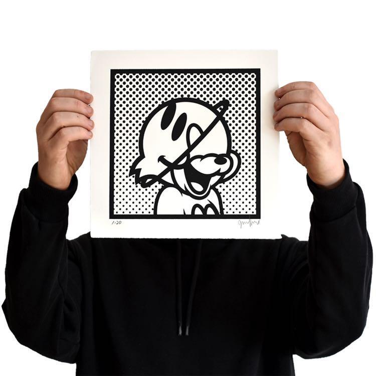 Grafflex - PLNT TOM Limited Edition of 20 Art Print 全球限量20張