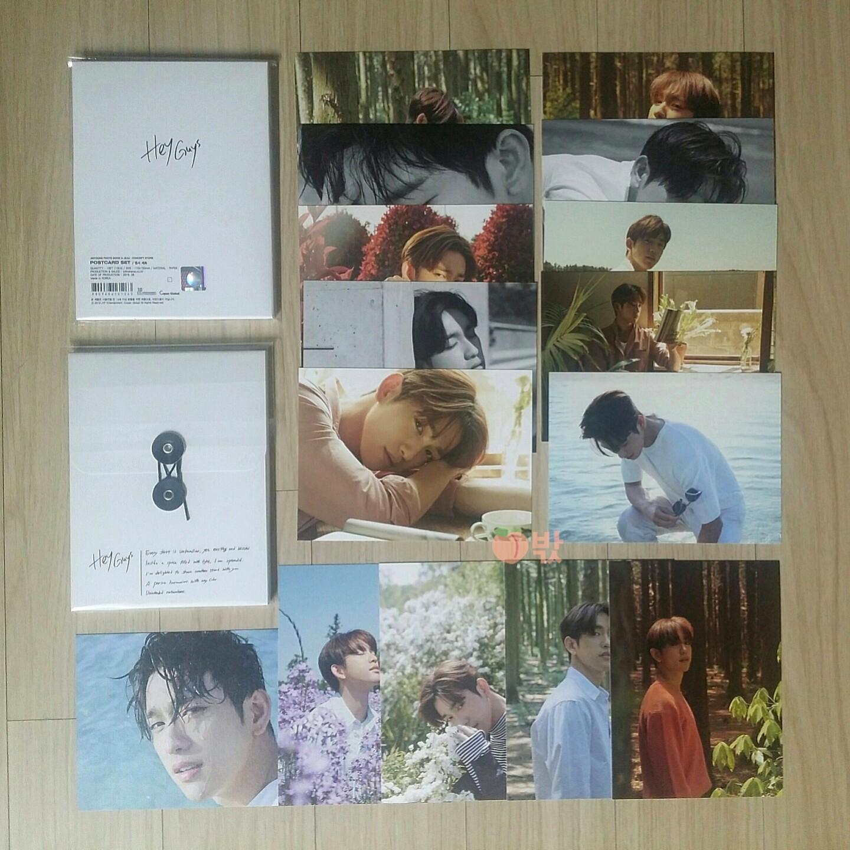 [Incoming Ready Stock] Got7 Jinyoung [HEY GUYS] Goods (Postcard Set)