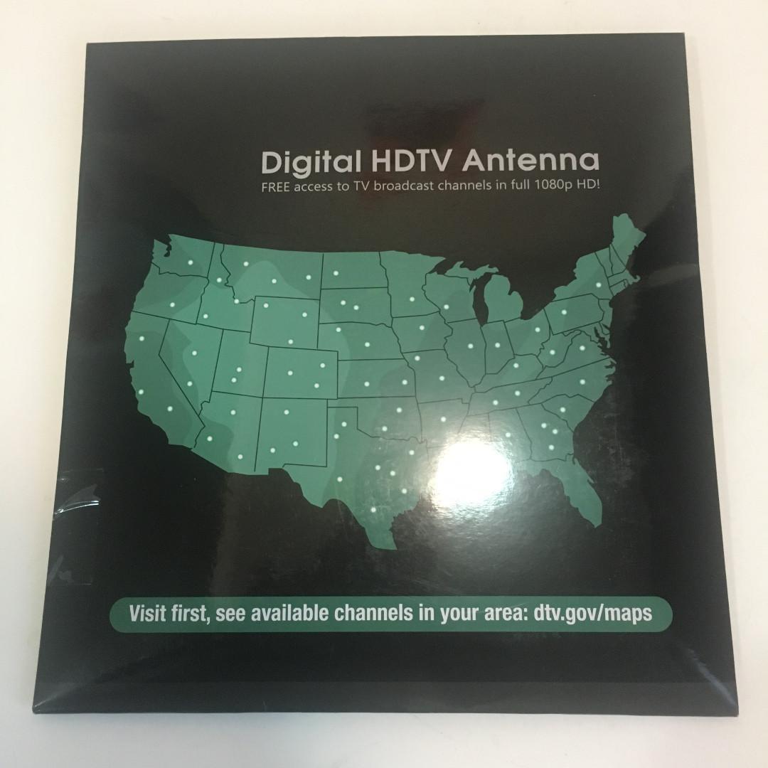 Indoor TV Antenna for Digital HDTV With (135 KM Range)