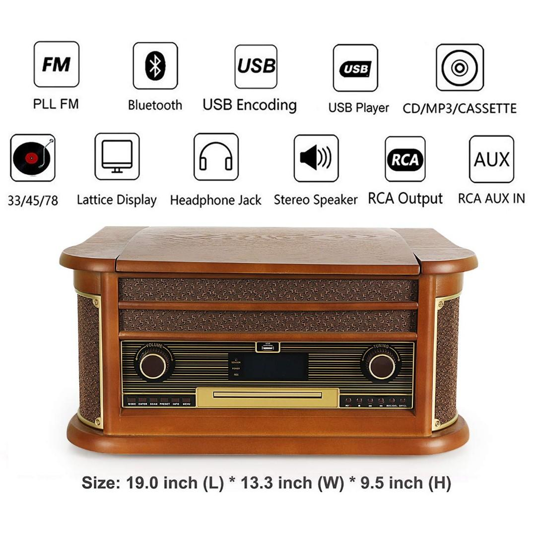 3 inch record player