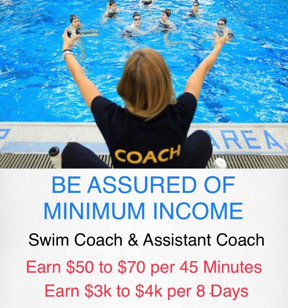 Kids Swim Coach As A Career
