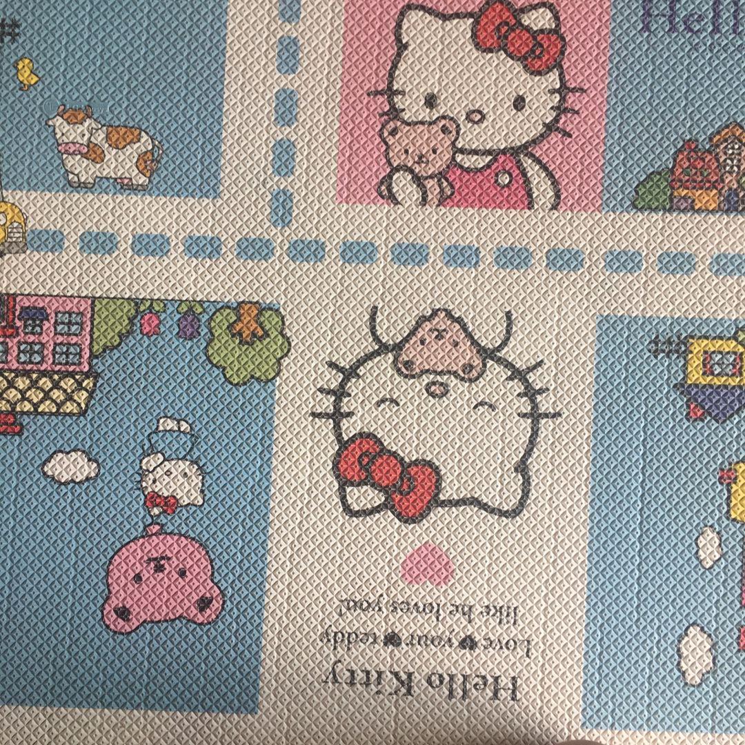 Large LG Hausys Hello Kitty Playmat