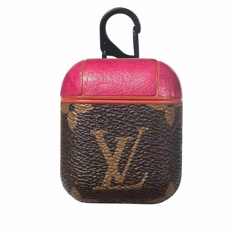 Leather Louis Vuitton Damier, LV, Gucci, Burberry and Supreme AirPod cases