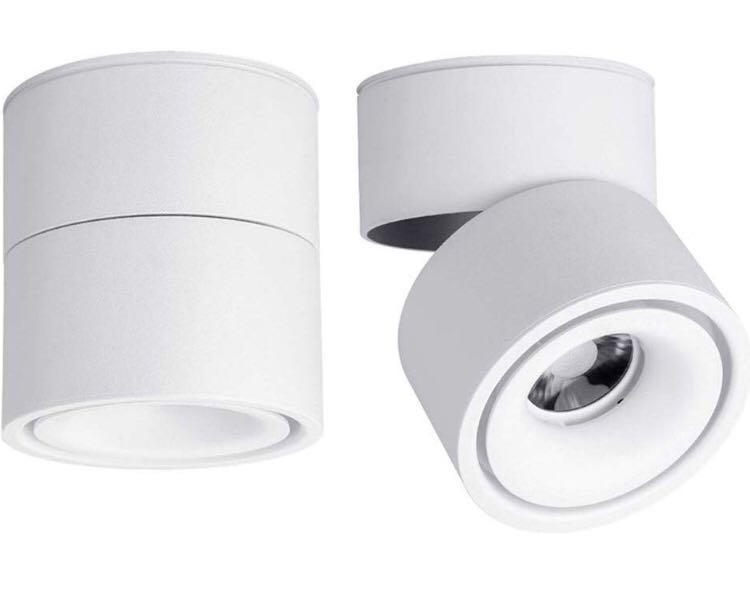 quality design 6196d e04db LED Indoor Ceiling Spotlight 360°Adjustable -Surface Mounted ...