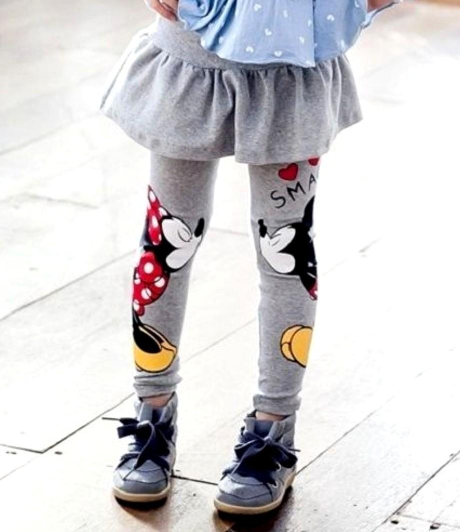 Legging with tutu skirt pants
