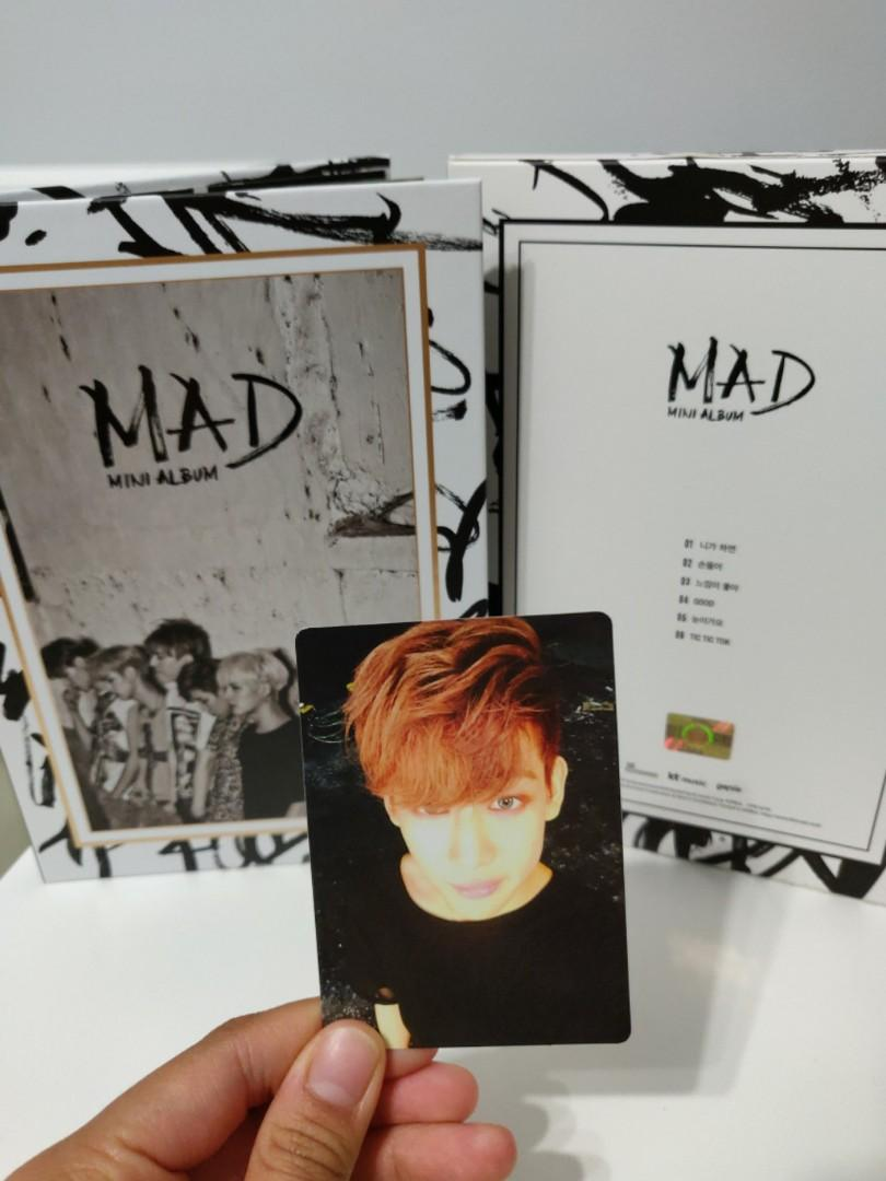 GOT7's MAD Album (Vertical Version)