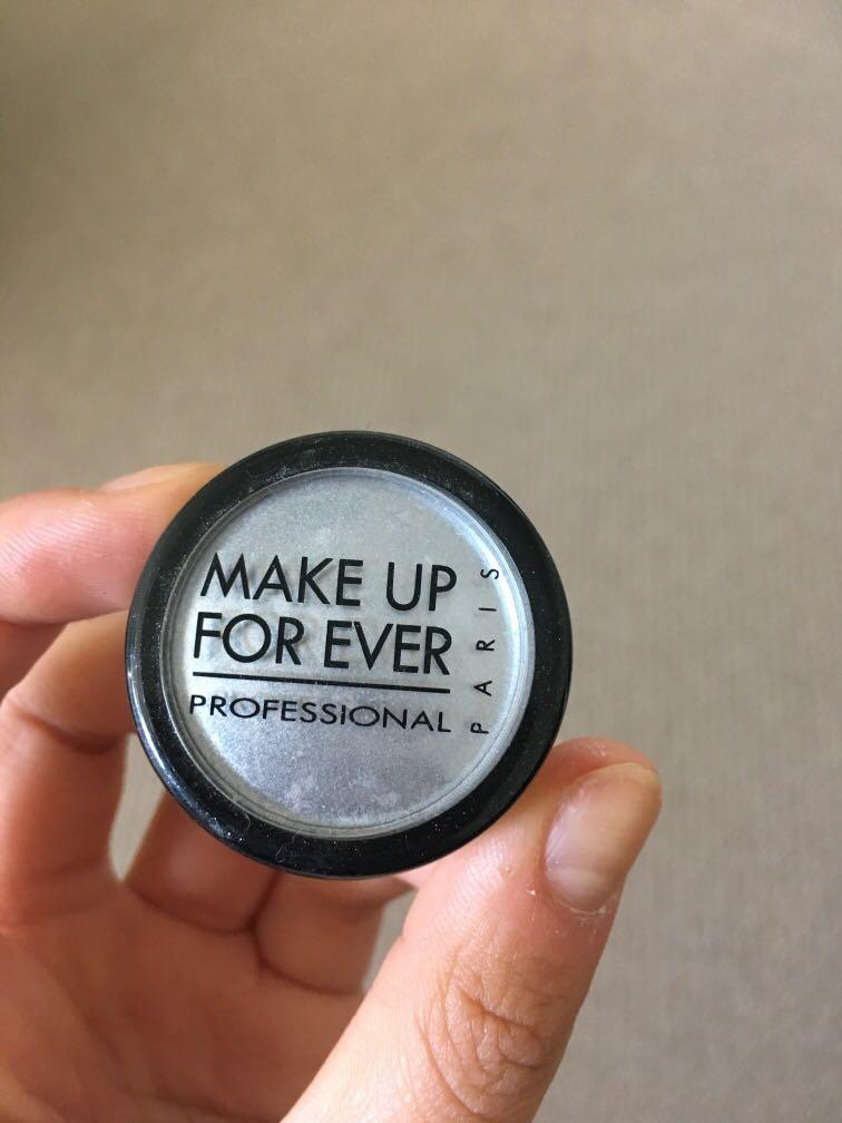 Makeup forever silver eyeshadow/highlight loose powder