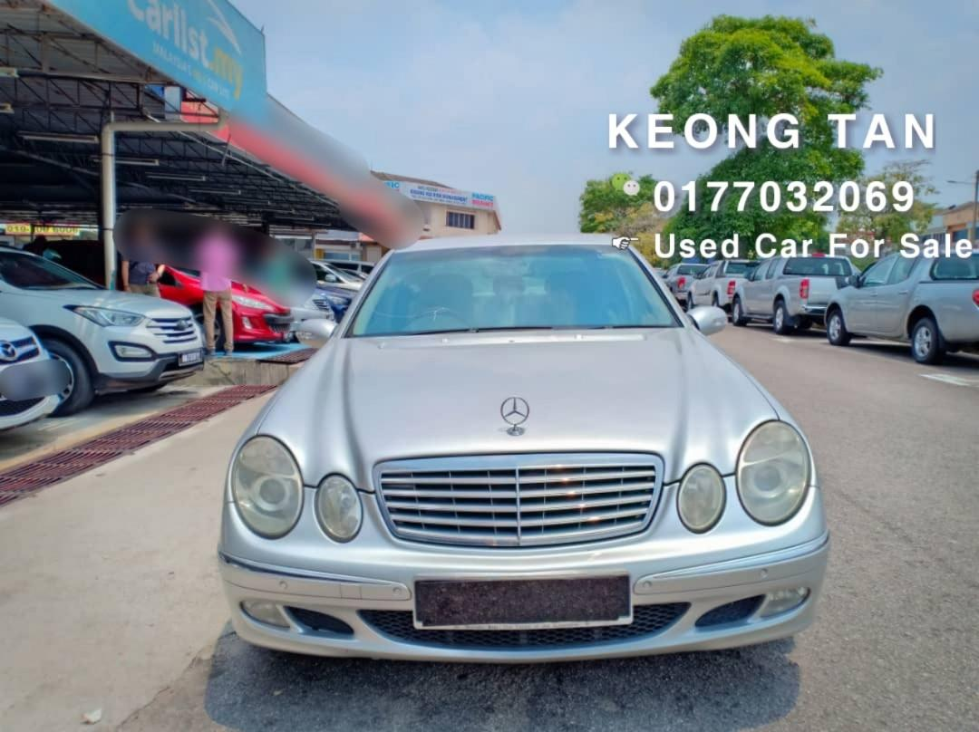 MERCEDES BENZ E240 W211 2.6AT 2004TH Cash💰OfferPrice💲Rm26,800 Only‼💰Jual Cash Shj‼LowestPrice InJB 🎉📲 Keong‼🤗