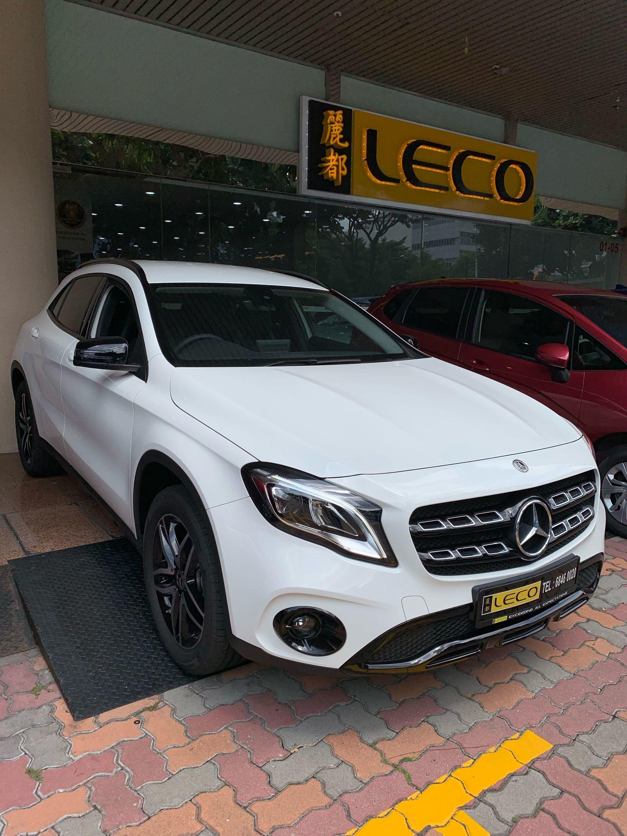 Mercedes-Benz GLA-Class GLA180 Urban Edition (A) Night Package