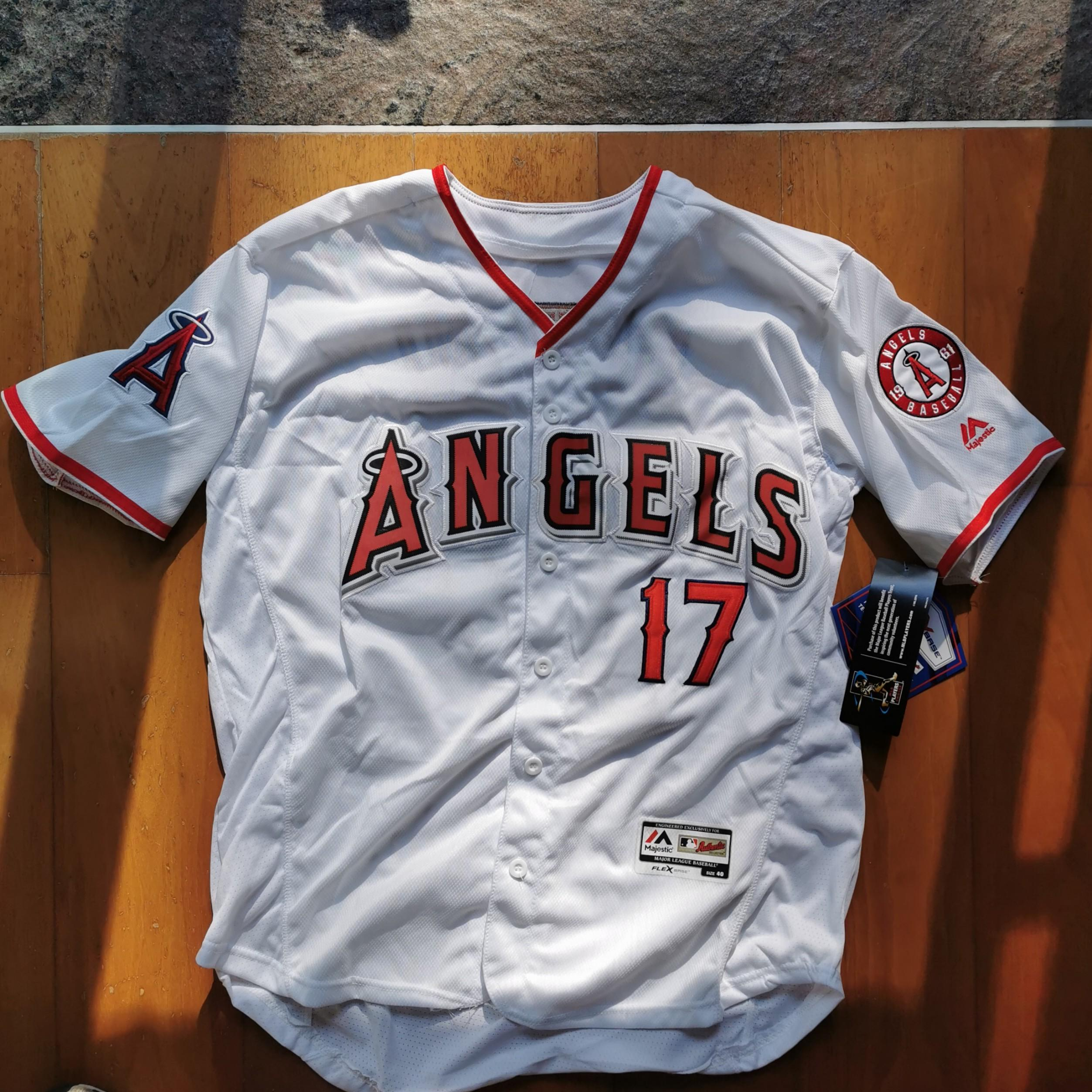 OHTANI Majestic LA Angels Home Shirt