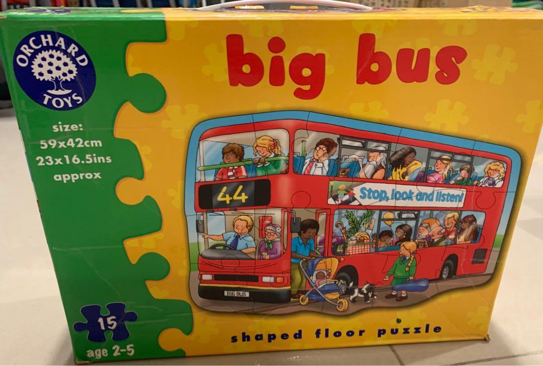 Orchard Puzzle Bus Big