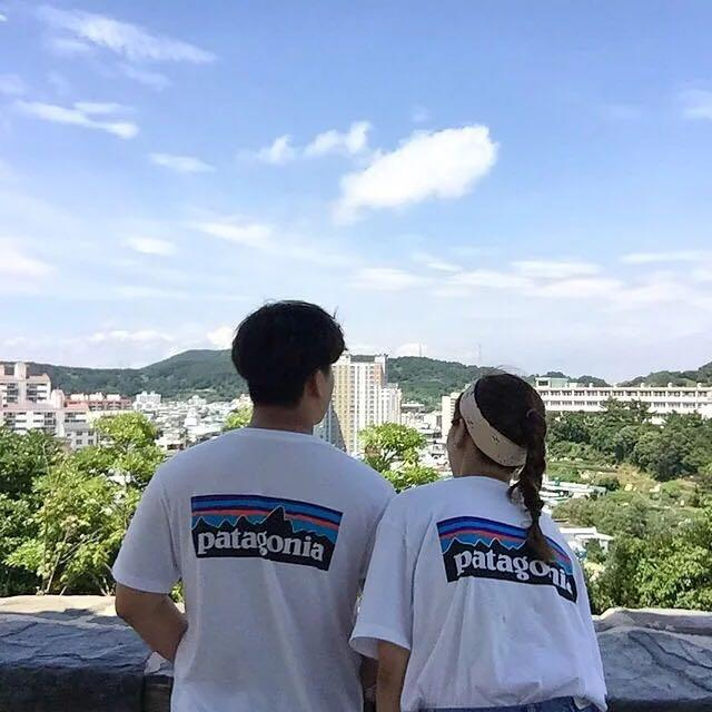 🔥PATAGONIA Korean Ulzzang Mountain Graphic Tshirt