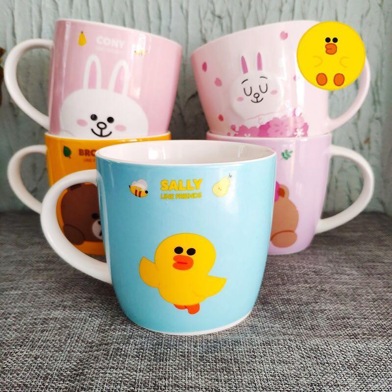 [po] line friends Ceramic cup mug