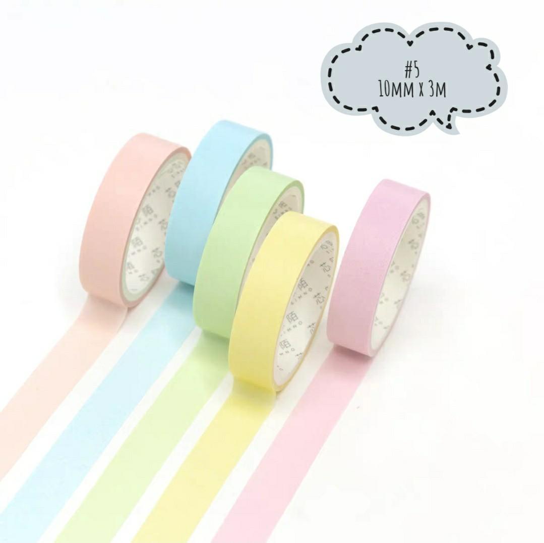[PO]Pastel washi tape set