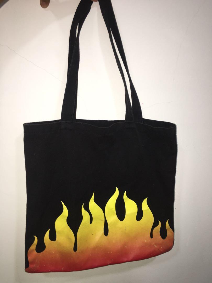 PRELOVED FLAME FOREVER 21 Tote Bag