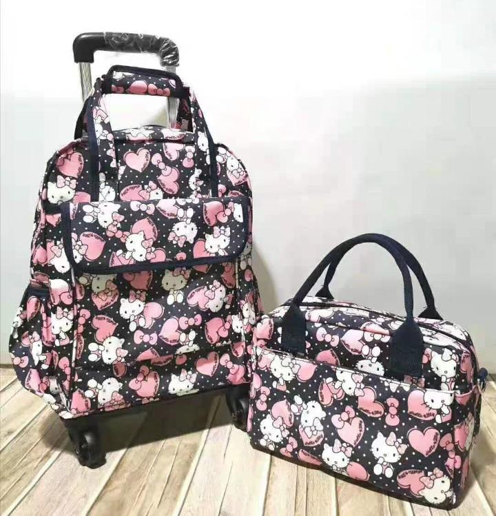 Preorder- Hello Kitty Trolley Wheeled bag/ Cabin Luggage/Travel Bag