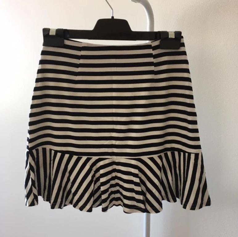 Princess Polly Mermaid Skirt in Stripes (Aus Size 6)
