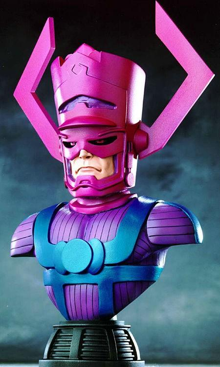 Rare Randy Bowen Galactus Bust toy statue Marvel