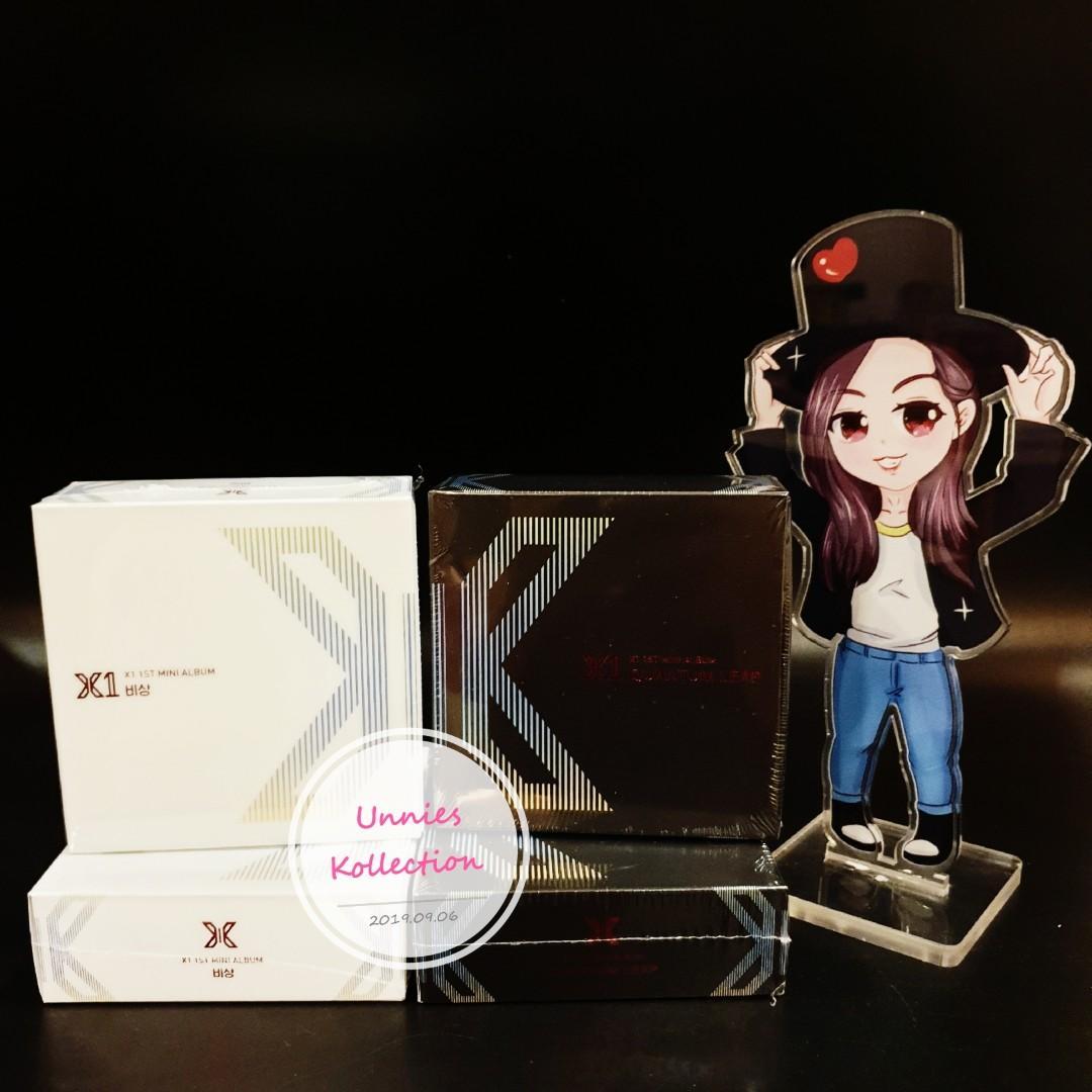 💥💥READY STOCK💥💥 X1 - Mini Album Vol.1 [비상: QUANTUM LEAP] - Album & Kihno