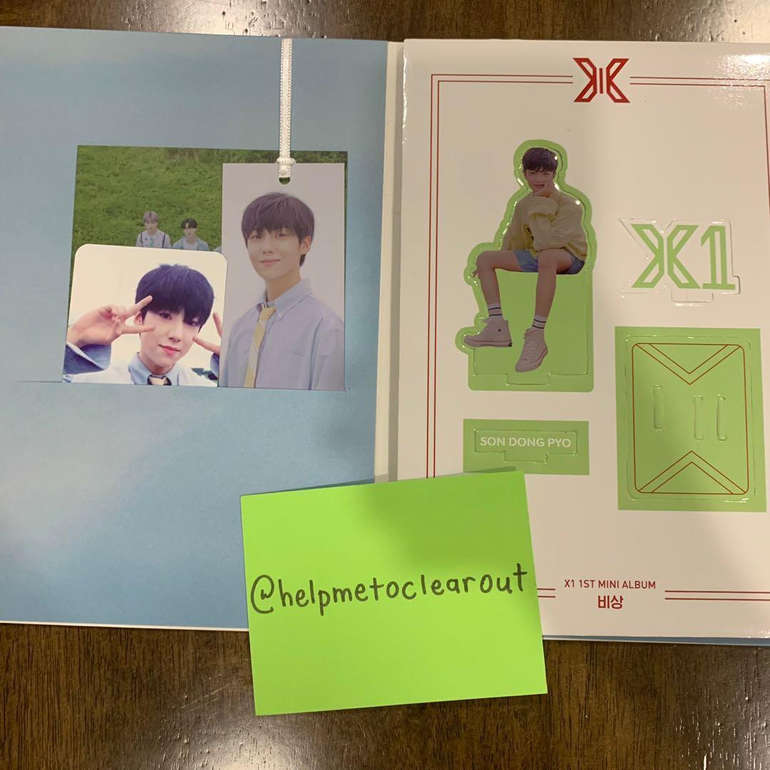 (READYSTOCK in Malaysia 🇲🇾) X1 debut album, quantum leap unsealed fullset  (lee eunsang)