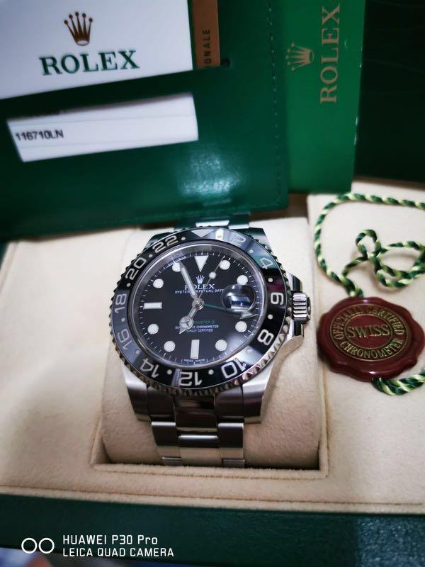 Rolex 116710ln GMT MASTER 2