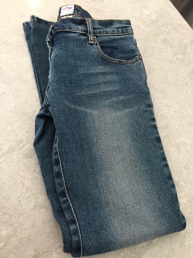 Sass & Bide Denim Jeans 28 Dark blue Indigo Bootcut