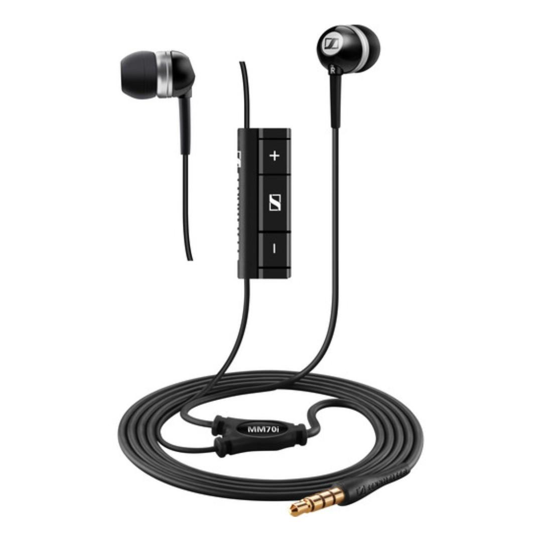 Sennheiser MM 70 S Ear Canal Headset for Smartphones and Tablets