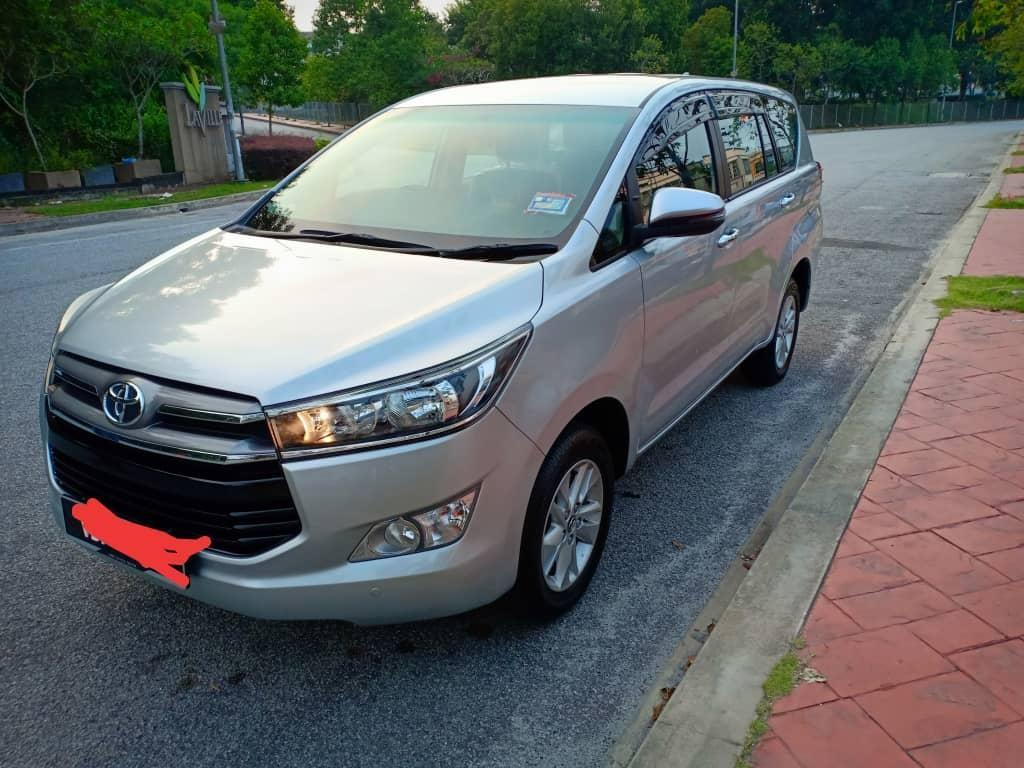 SEWA BELI>>TOYOTA INNOVA 2.0 TYPE G PUSH START 2019