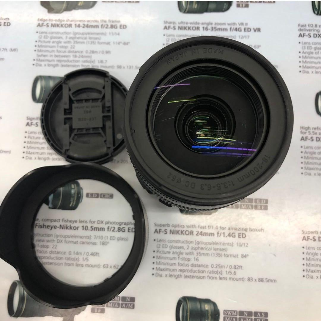 Sigma 18-200mm F3.5-6.3 DC (Canon EF-S Mount)