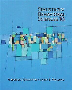 Statistics for the behavioural sciences 10th Ed. Brand new Looseleaf!