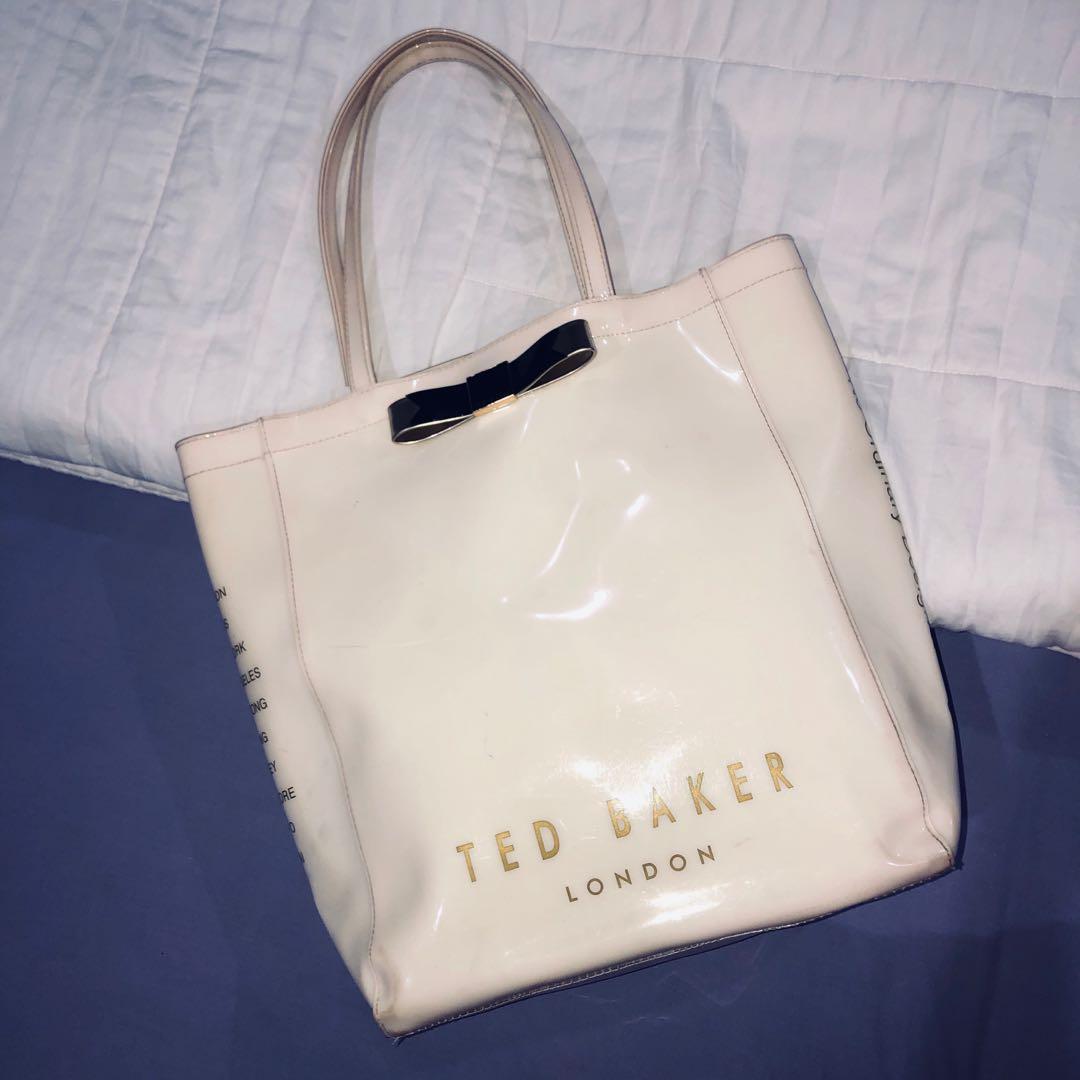 *FLASH SALE* TED BAKER LARGE SHOPPER BAG - Cream (100% ORIGINAL)