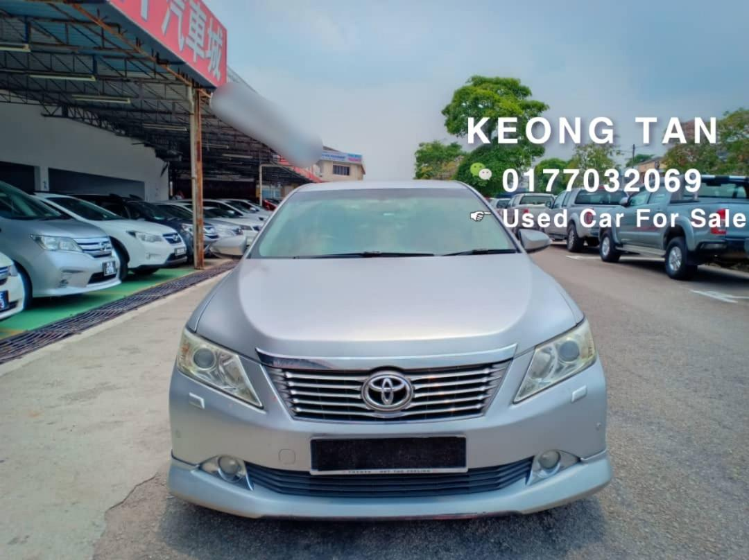 🚘TOYOTA CAMRY 2.0AT G SPEC 2013TH PushStart/Keyless🎉Low MILEAGE Cash💰OfferPrice💲Rm72,800 Only‼ LowestPrice InTown🎉Call📲 Keong For More🤗