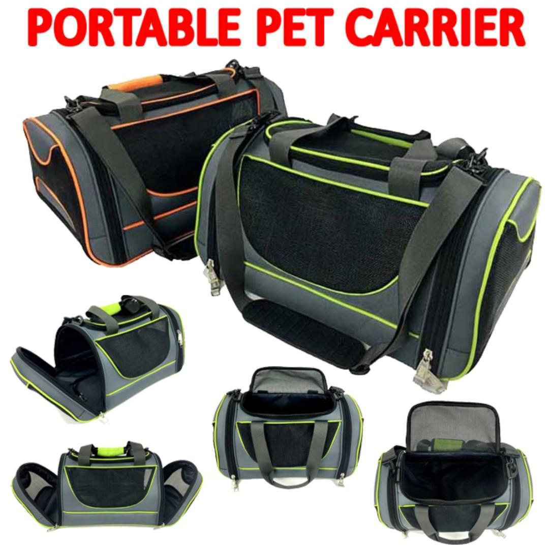 TPE047 Fashion Pet Shoulder Sling Portable Carrier For Dogs & Cats (Local Seller Durable Nice)