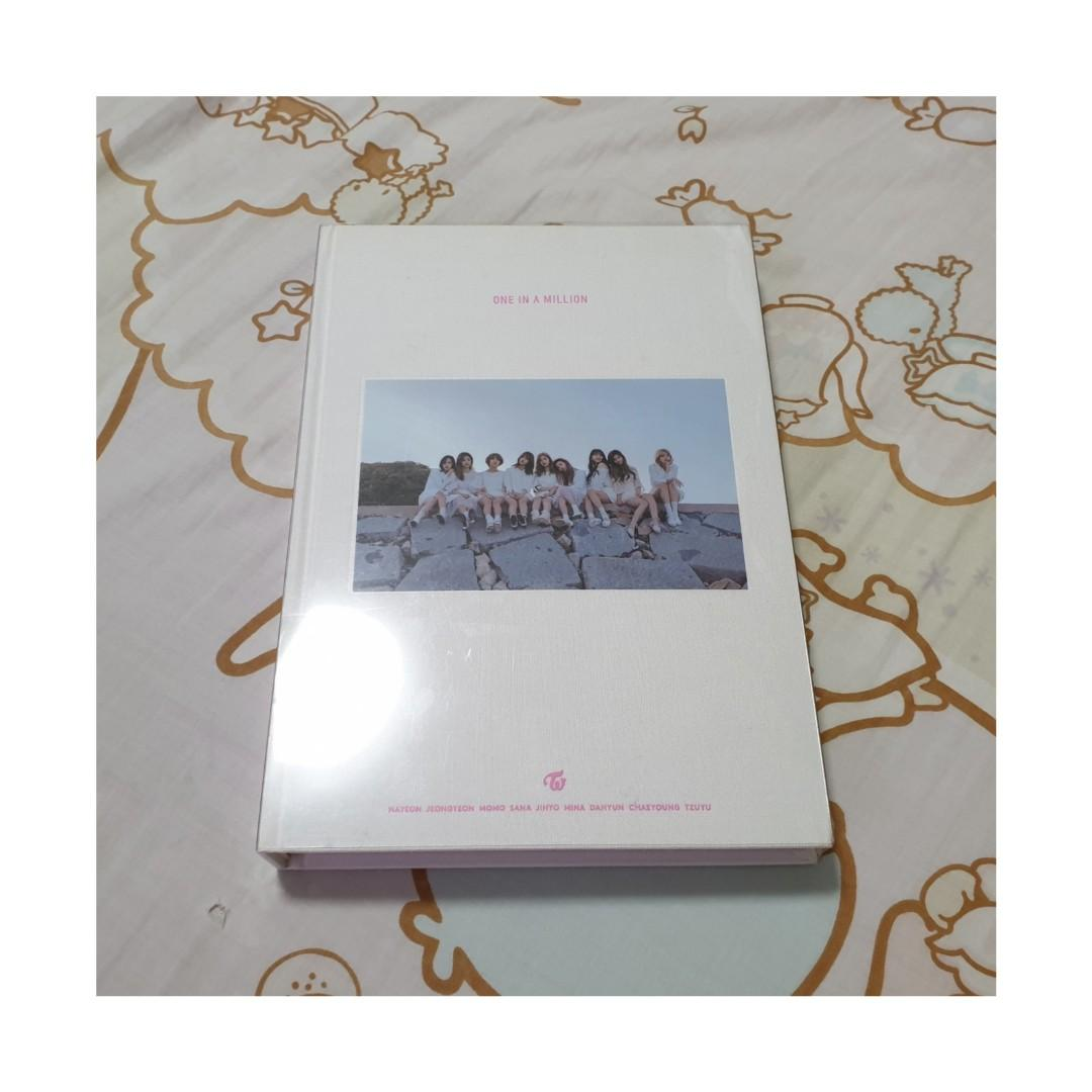 Twice One In A Million Photobook K Wave On Carousell