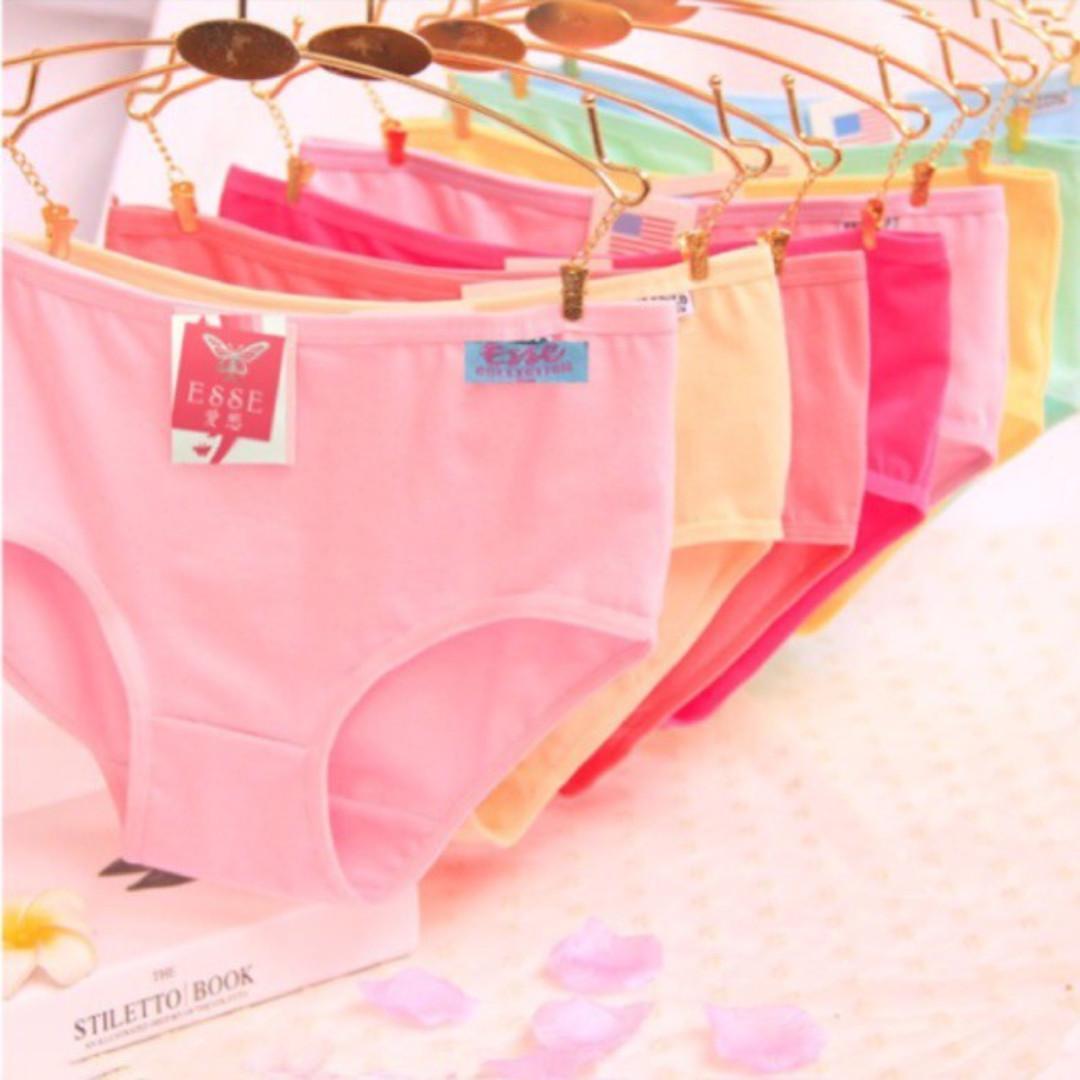 Undies Celana Dalam CD Wanita Esse Ukuran ampe extra jumbo size M,L ,XL,XXL,XXXL