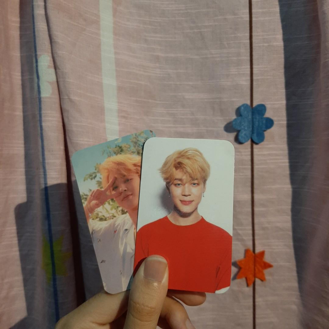 unofficial love yourself : her O/V version photocards