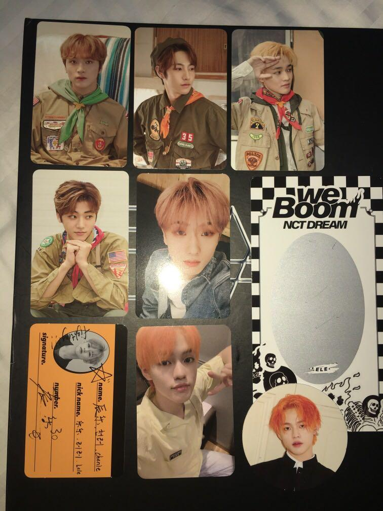 WTS NCT DREAM PHOTOCARDS