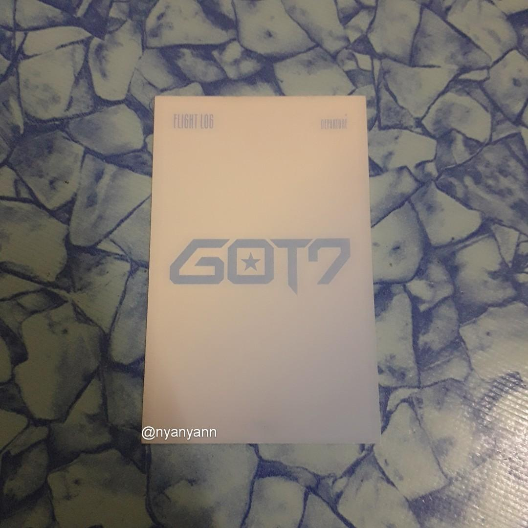 [WTS Only] GOT7 Flight Log:Departure Group Photocard