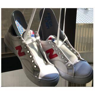 【二手|只穿過1次】New Balance紐巴倫女款經典復刻鞋復古鞋休閒鞋AM210CWT(US 5.5/23.5cm)