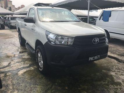 Toyota hilux single cap