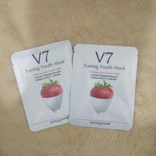 Toning Youth Mask strawberry